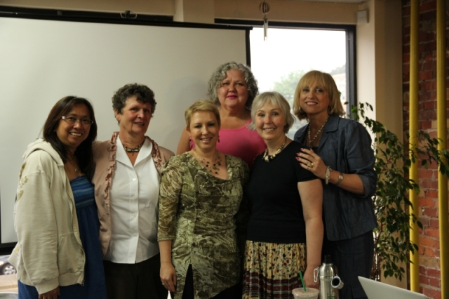 first graduating class of Group of Seven Social Media Workshops in Toronto